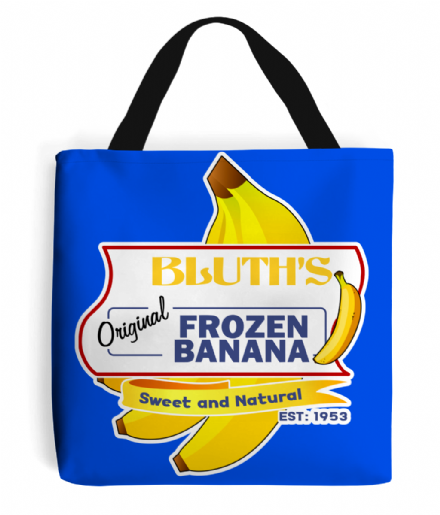 Bluths Original Frozen Banana Tote Bag Based on Arrested Development